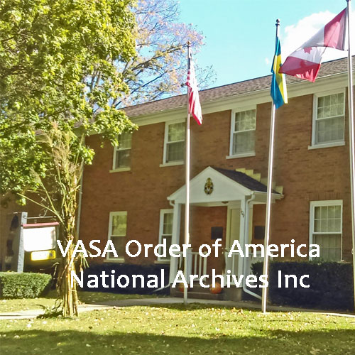 Vasa Order of America National Archives Inc